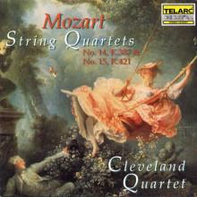 MOZART: Quartetti per archi N.14 - N.15