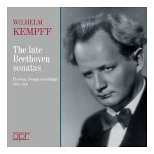KEMPFF W.: Beethoven Piano Sonatas