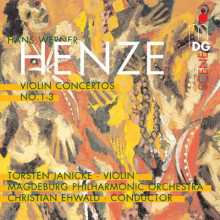 HENZE: Violin Concertos No. 1 - 3