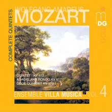MOZART: Compete String Quintets Vol. 4