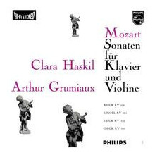 MOZART: Sonate per violino e pianoforte