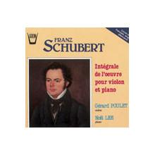 SCHUBERT:Integrale dell'opera per violino e pianoforte