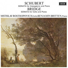 SCHUBERT - BRIDGE: Sonate per cello