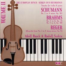 BRAHMS - SCHUMANN: Sonate per violino e piano