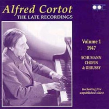 CORTOT: The Late Recordings Vol.1