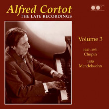 CORTOT: The Late Recordings Vol.3