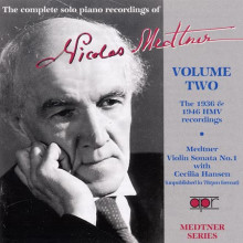Medtner: Opere Per Piano Vol.2