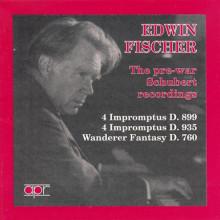 SCHUBERT: Edwin Fischersuona Schubert