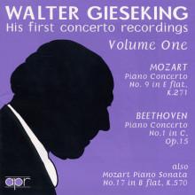 MOZART - BEETHOVEN: CONCERTI PER PIANO