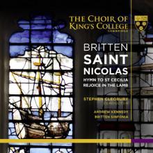 BRITTEN: Saint Nicolas e altre opere