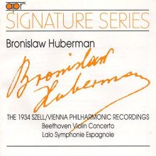 HUBERMAN INTERPRETA BEETHOVEN - LALO