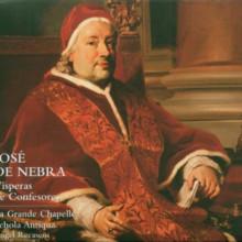 De Nebra Jose: Visperas De Confesores