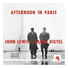 JOHN LEWIS & SACHA DISTEL: Afternoon in Paris