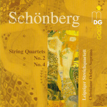 SCHOENBERG: String Quartets No. 2&4