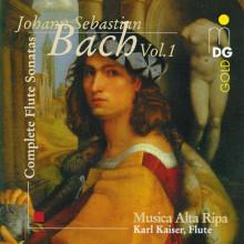 BACH: Complete Flute Sonatas Vol. 1