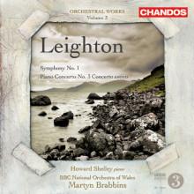 LEIGHTON:Sinfonia N.1 - Piano Concerto N.3