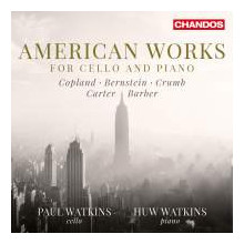 AA.VV.: American Works for cello & piano