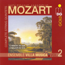 MOZART: Compete String Quintets Vol. 2