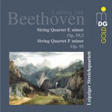 BEETHOVEN:String Quartets op. 59 - 2 & 95