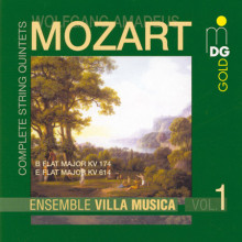 MOZART: Complete String Quintets Vol. 1