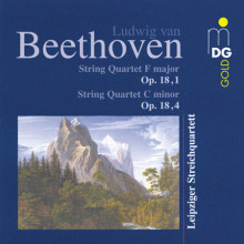 Beethoven:string Quartets Opp. 18 - 1 & 4