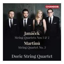 JANACEK - MARTINU: Quartetti per archi