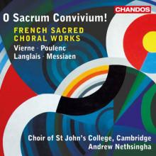 O SACRUM CONVIVIUM - French Sacred Choral