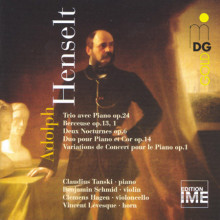 HENSELT: Piano Trio - Piano Music