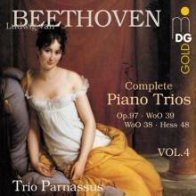 BEETHOVEN:Complete Piano Trios Vol.4