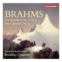 BRAHMS:String Quartet N.1 - Piano Quintet