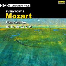 MOZART:Concerti per piano NN.17 - 20 - 22 - 24