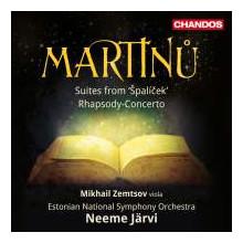Martinu:suites Da Spalicek - Rhapsody - Conc