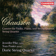 CHASSON: Concerto Op.21 - Quartetto Op.35