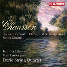 CHASSON: Concerto Op.21 - Quartetto Op.35