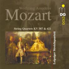 MOZART: String Quartets KV 387 & 421