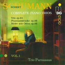 Schumann: Complete Piano Trios Vol. 1