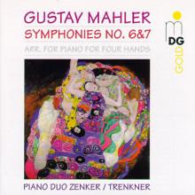 MAHLER: Sinfonie NN.  6 & 7 (arr. piano)
