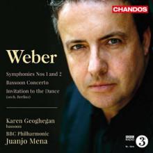 WEBER:Sinfonie NN.1 & 2 - Bassoon Concerto