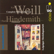 WEILL K.: String Quartets in B minor and