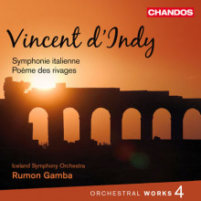 D'INDY: Sinfonia Italiana etc