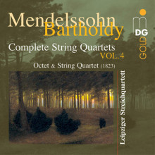 MENDELSSOHN: Quartet E flat major - Octet