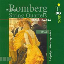 ROMBERG: Quartetti per archi Vol.2