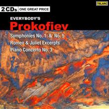 PROKOFIEV: Sinfonie NN.1 - 5 e altre opere