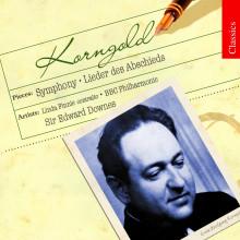 Korngold: Lieder Des Abschieds