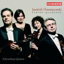 JANACEK - SZYMANOWSKI: Quartetti per archi