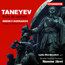 TANEYEV: Suite de Concert