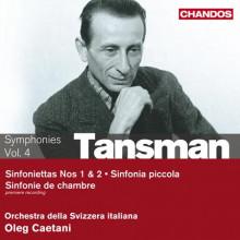 TANSMAN: Sinfonietta NN.1 & 2