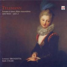 TELEMANN: Sonate a due flauti Op. 2