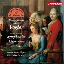 VOGLER: Sinfonie - Overture & Balletti