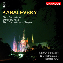 KABALEVSKY: Concerto per piano N.1 - Sinf